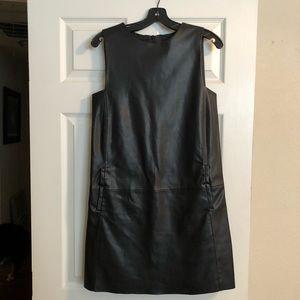 Zara faux leather dress - XS